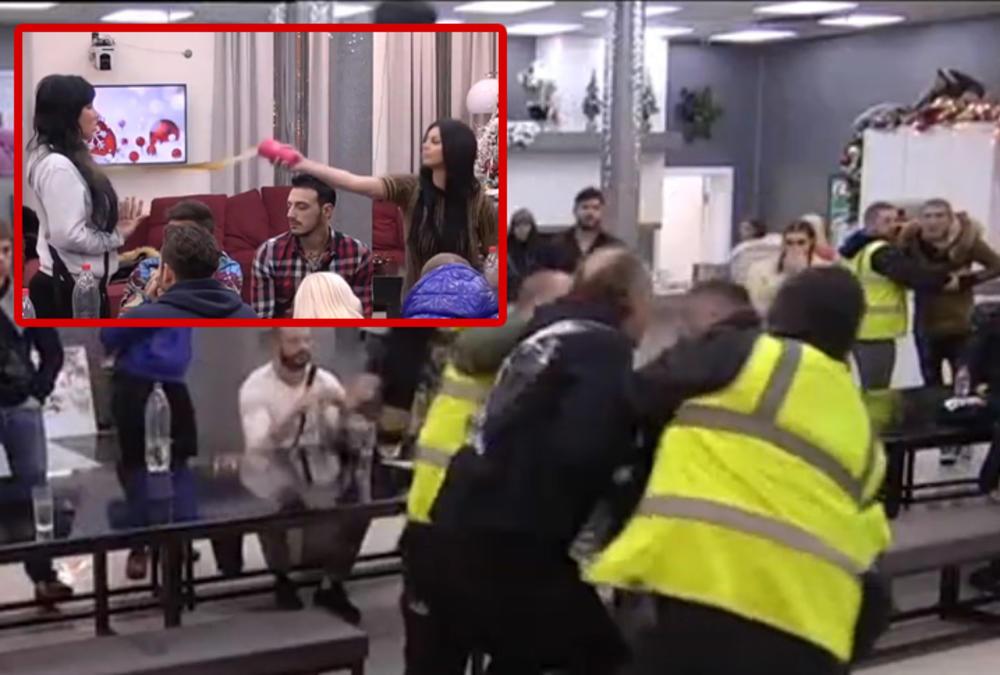ZERINA POLILA ALEKSANDRU, PA MIĆA I MIKI NASRNULI NA NJU: Obezbeđenje sprečilo TUČU, Subotićeva ŽESTOKO ZARATILA sa svima u rijalitiju! KOLEKTIVNI HAOS! (VIDEO)