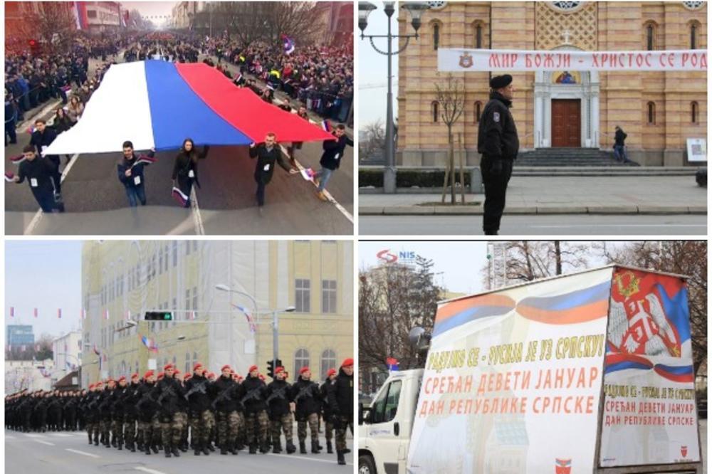 TROBOJKE SE VIJORE BANJALUKOM, POLICIJA POSTROJENA: Pogledajte poslednje pripreme za dan Republike Srpske i SVEČANI DEFILE KOJI JE ODUŠEVIO REGION! (FOTO, VIDEO)