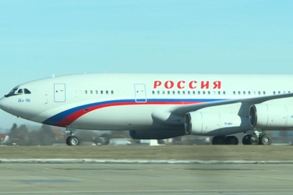 UŽIVO PUTIN SLETEO U BEOGRAD: Ruski predsednički avion na aerodromu Nikola Tesla!