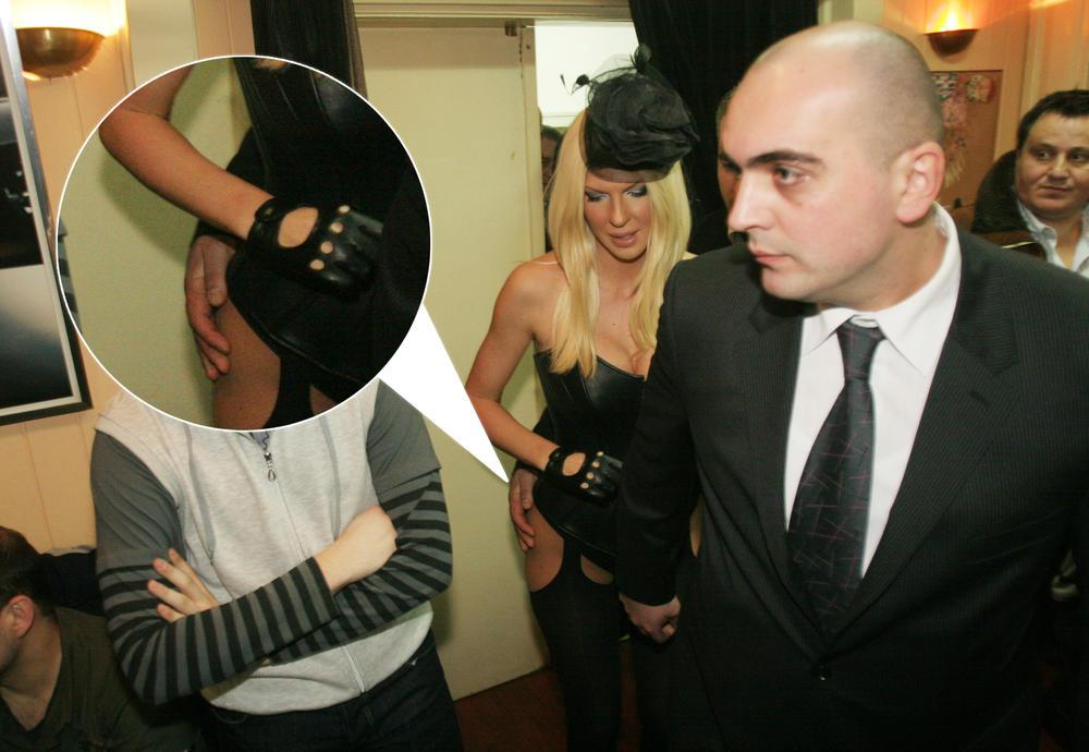 ŠOK SLIKE KARLEUŠE I TELOHRANITELJA! OVAKO JE JK DUŠKU NABIJALA ROGOVE: Te večeri je bila sa mužem, a u bekstejdžu... (FOTO)