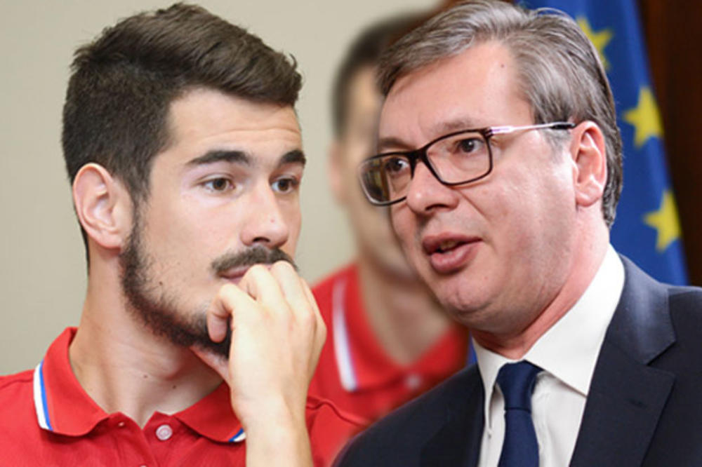 VUCIC MANAGING CALINIC: Here's what the president said about basketball's statement that the Kosovo problem should be resolved and resumed