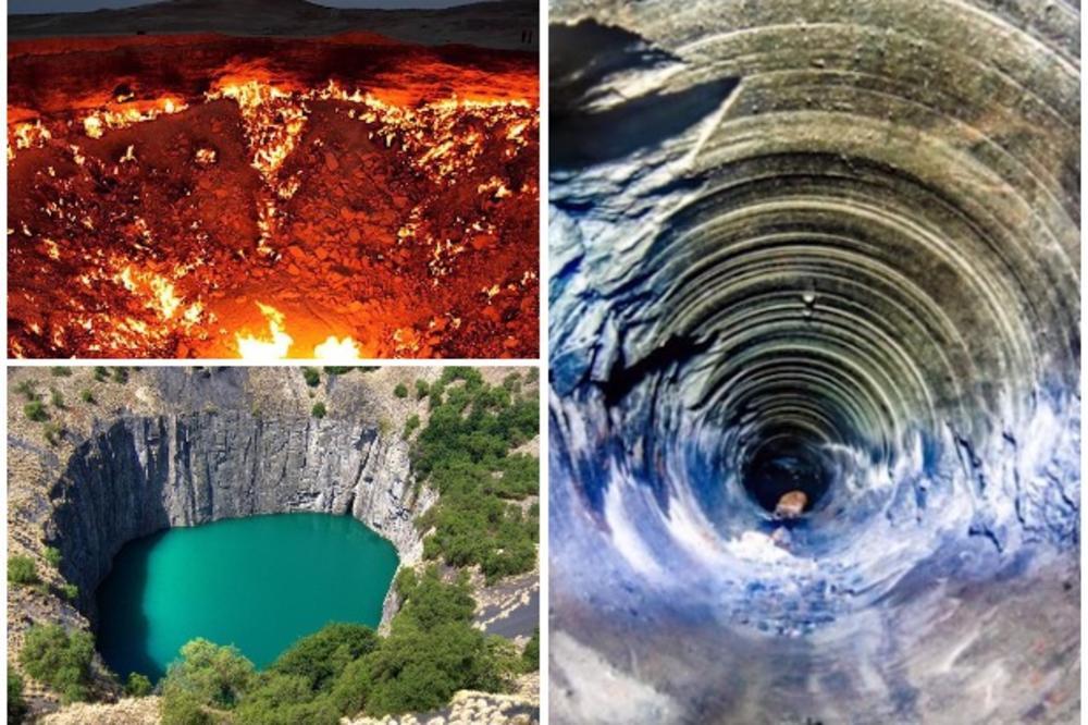 PREICE DO PAKLA Ovo Je 10 Najveih Rupa Bez Dna Na Zemlji Kriju Avola