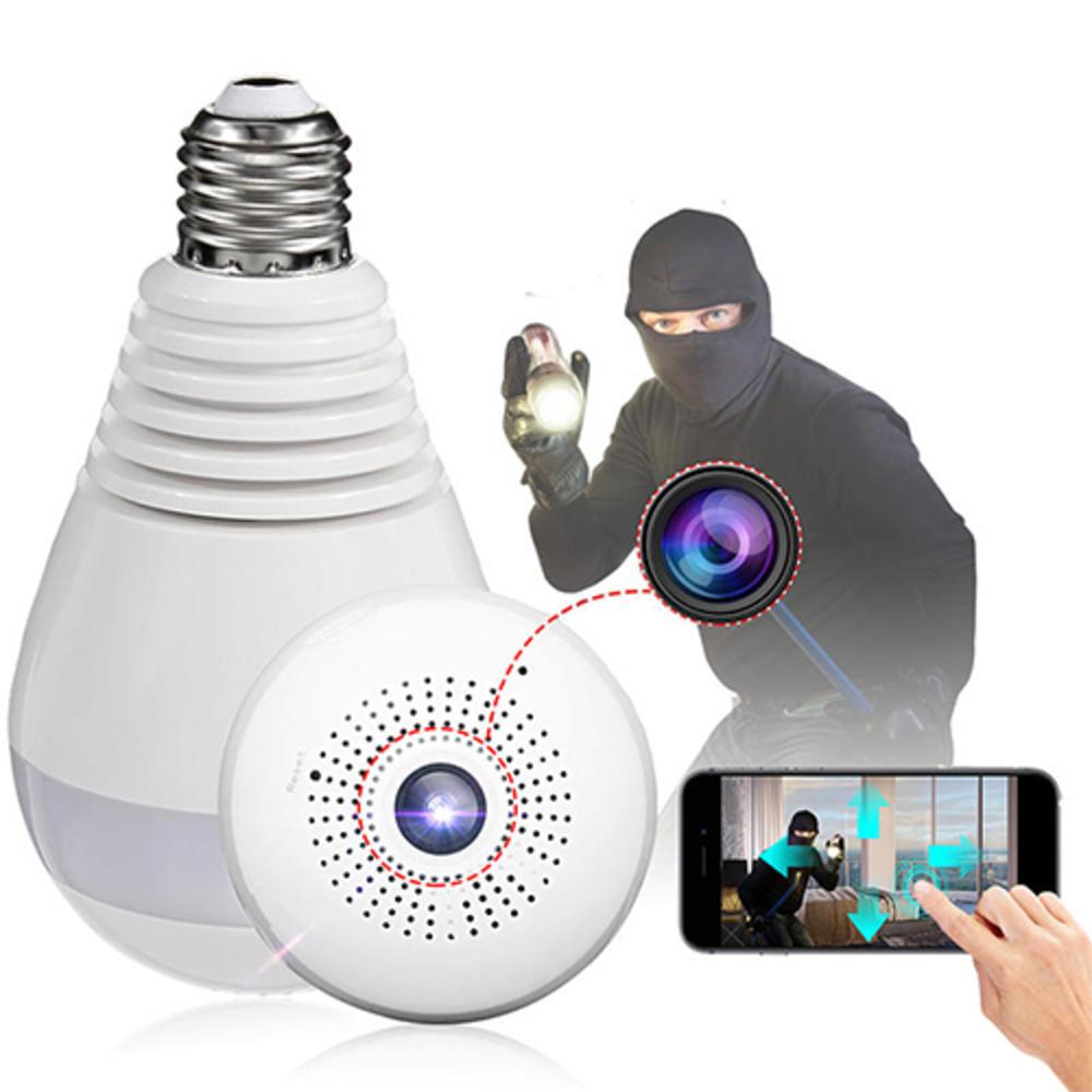 NADZOR PREKO MOBILNOG TELEFONA: Wi Fi kamera u sijalici sa ZVUKOM i