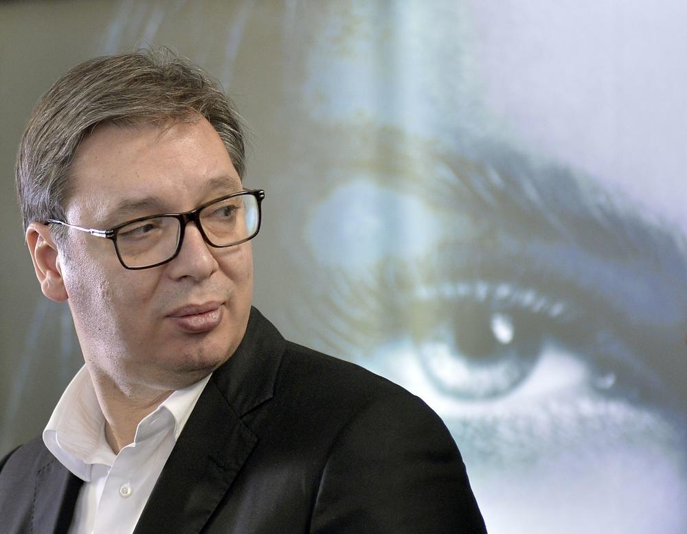 Meta... Aleksandar Vučić