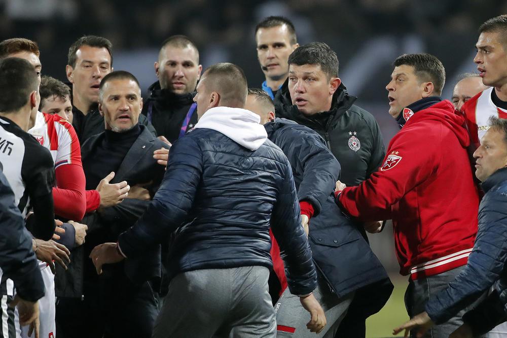 Skandal Posle Večitog Derbija Fudbaleri Crvene Zvezde I