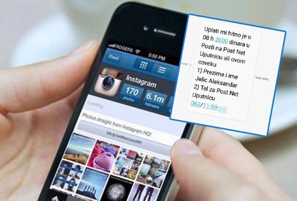 UPLATI MI 2.000 DINARA, HITNO JE: Stara SMS prevara opet kruži 105