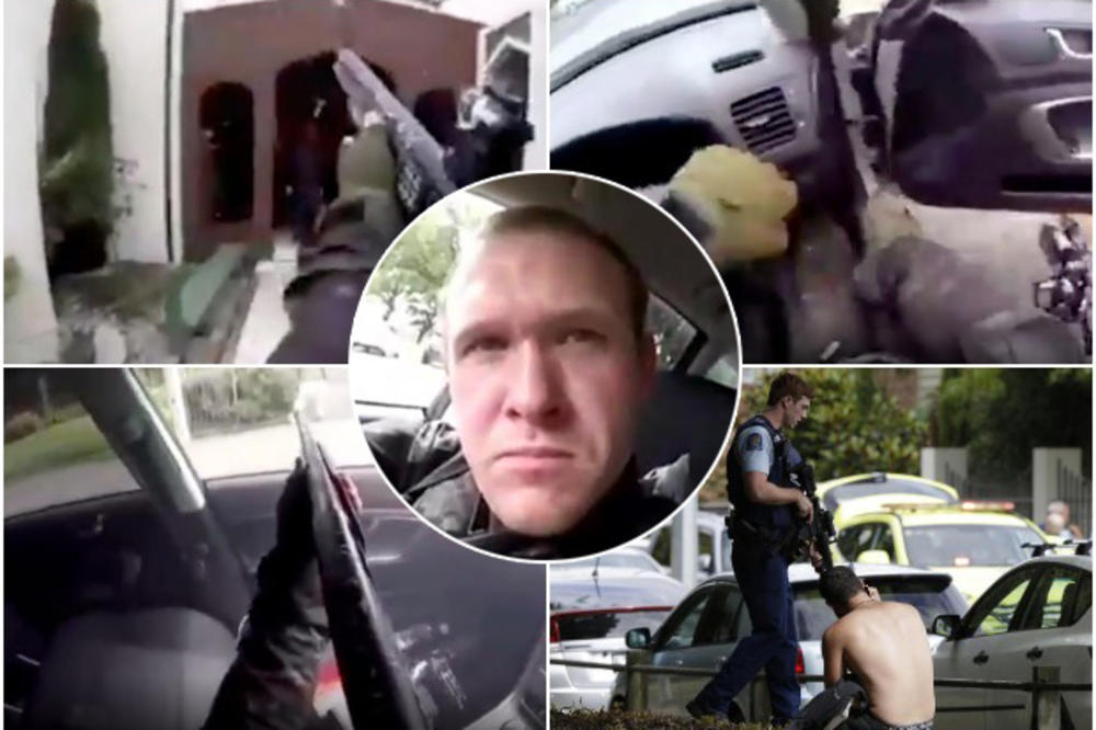 Attentat Nouvelle Zélande Wikipedia: OVO JE LICE TERORA: Ovaj čovek Je U Džamiji Na Novom