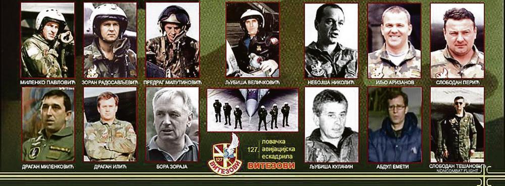Srbijo, slavi svoje heroje! NATO PILOTI STALI SU UZ TERORISTE MAJOR RADOSAVLJEVIĆ BORIO SE SA 10 AVIONA F 15, PILOT KULAČAN izbegao je sve rakete i bezbedno sleteo... Naši migovi 29, u 20.15 poleteli su u VEČNOST! Ovo su čelični srpski vitezovi koji su Nato ZLIKOVCIMA stali na put nad našim nebom! 2 1.3k