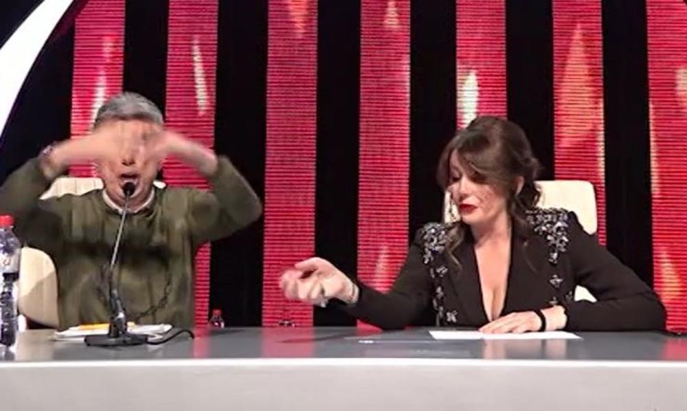 VIKI, JA NE PADAM NA TE NIŠKE FAZONE! Popović žestoko udario na pevačicu naočigled svih: Sad bih mu najradije nalupala ŠAMARE! (FOTO)