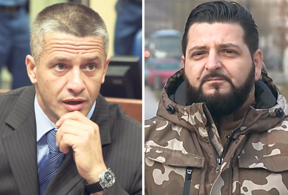 Partneri u podizanju tenzija... Naser Orić i Nihad Aličković