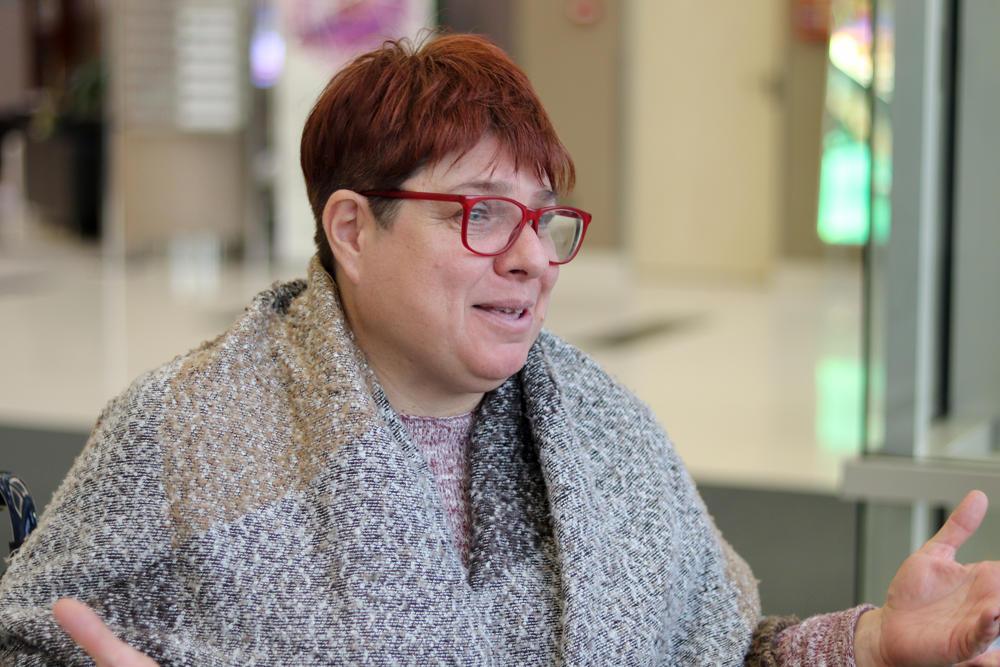 Radionice na kojima Tatjana predaje namenjene su ženama koje su na rukovodećim pozicijama u invalidskim organizacijama i ženskim organizacijama