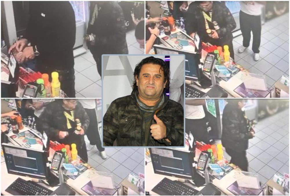 EKSKLUZIVNI SNIMAK! PEVAČ UHVAĆEN U AKCIJI U ZAGREBU: Pogledajte kako je Sejo Kalač ukrao telefon na pumpi! (VIDEO)