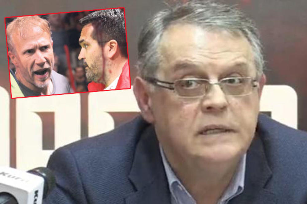 NEVER FUCK ON THE MILAN'S CALINITIS SITES ON THE RED STARS AND PARIS: Here's how the first man in red and white commented on the derby scandal (VIDEO)