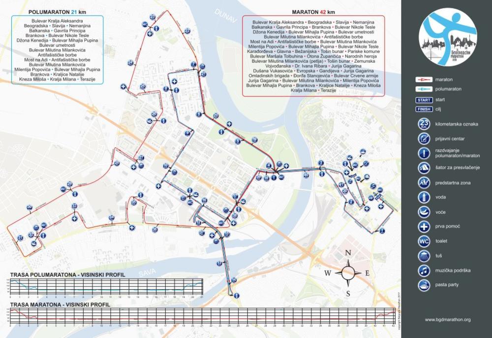 Maraton U Nedelju Zatvara Pola Beograda Neke Ulice Vec Od Ponoci