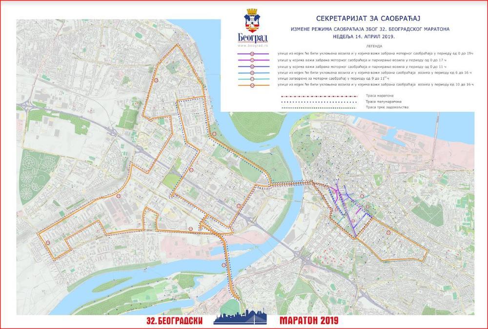 Maraton Danas Zatvara Pola Beograda Ovim Ulicama Necete Moci Da