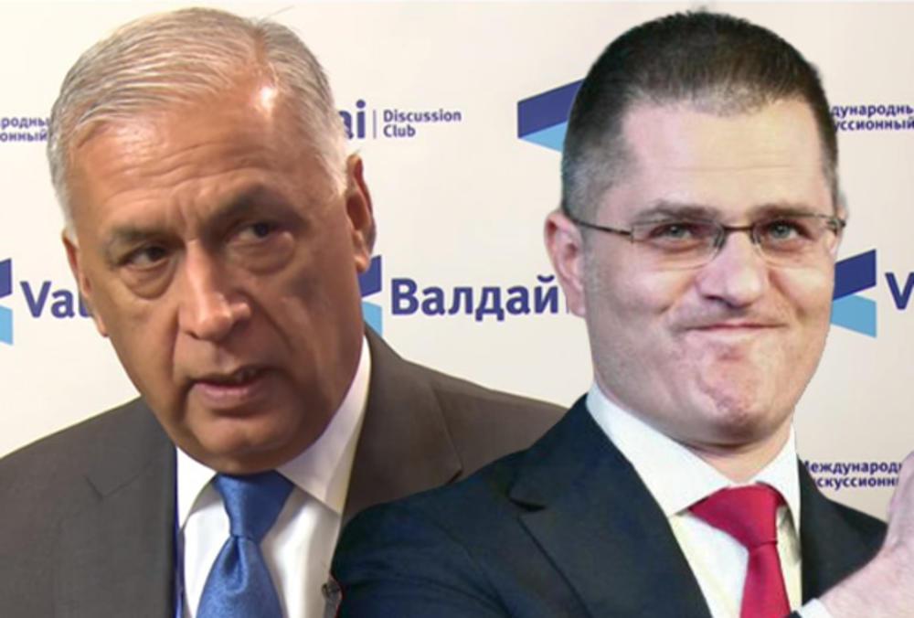 ANALITIČARI O POVEZANOSTI JEREMIĆA SA SUMNJIVIM TIPOVIMA: Vuk bira korumpirane jer mu obezbeđuju zaradu!