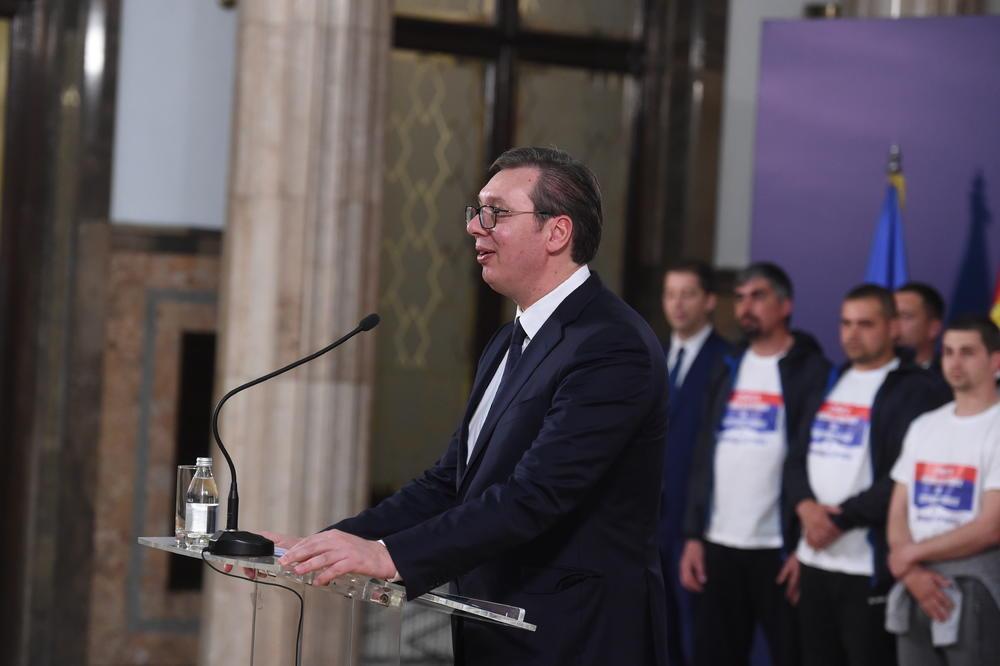 VUČIĆ: Srbija ne može doveka da trpi ultimatume i protivpravno delovanje Prištine!