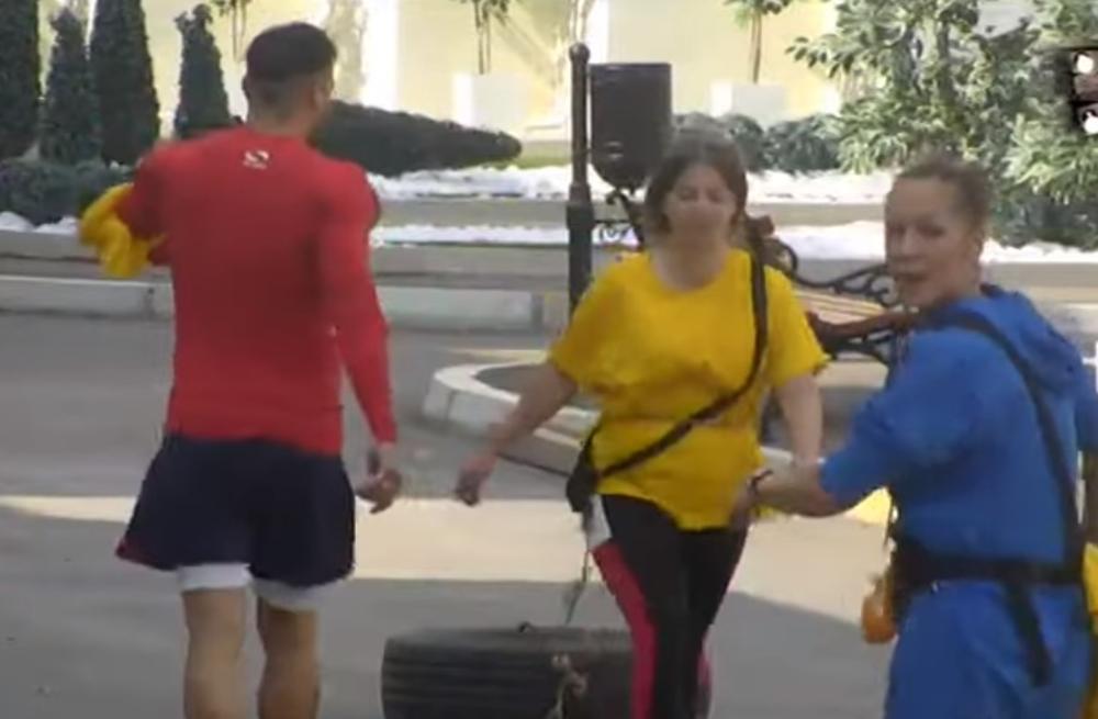 DRAGANA MITAR ZAMALO DA PADNE U NESVEST: Dobila je zadatak da izgubi kilograme, a evo koliko teško joj to PADA! (VIDEO)