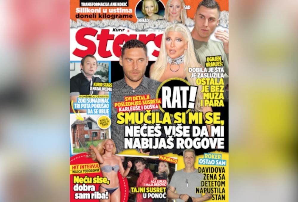 SUTRA POKLON U KURIRU NOVI STARS: Otkrivamo sve detalje poslednjeg susreta Jelene i Duška