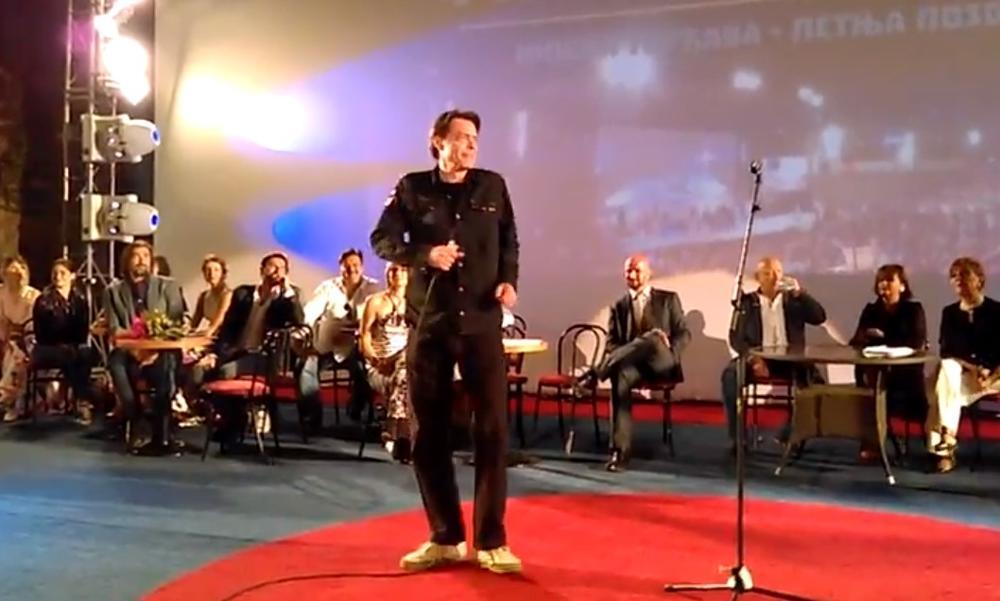 GRAĐANI NIŠA UVEK ĆE PAMTITI IGORA PERVIĆA: Pokojni glumac je ovako nekada zabavljao publiku na Letnjoj pozornici! (VIDEO)