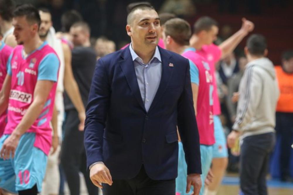 DEJAN MILOJEVIĆ PRED NOVI PAZAR: Pokušaćemo da ispravimo sve greške koje smo pravili u meču sa Partizanom