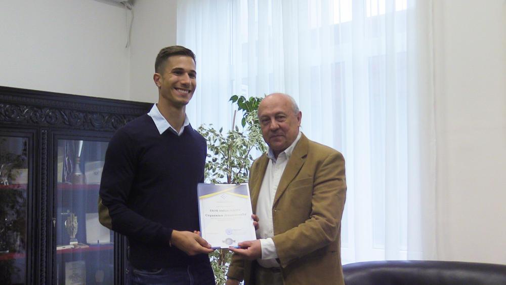 11:39h VELIKO PRIZNANJE: Strahinja Jovančević imenovan za ambasadora Ekonomskog fakulteta!