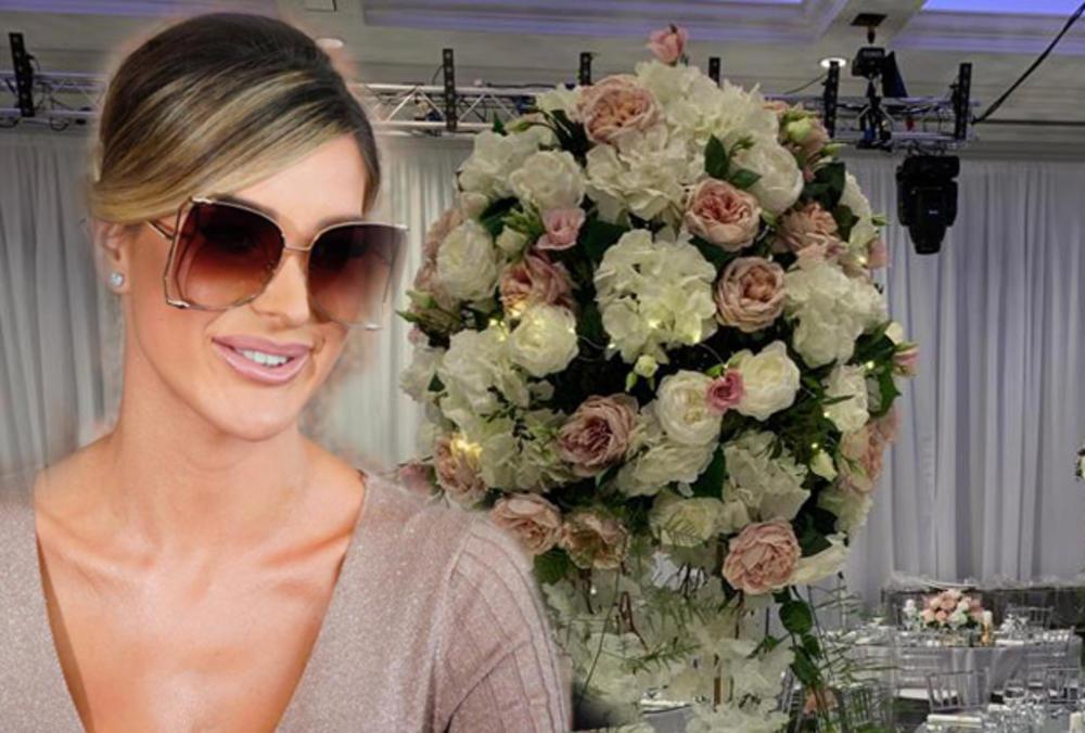 EKSKLUZIVNO! DŽAJINA ĆERKA BLISTA U HALJINI BOJE KOŽE! Pogledajte Aninu snajku 2 sata pre GLAMUROZNOG venčanja! NE SKIDA OSMEH SA LICA (KURIR TV)