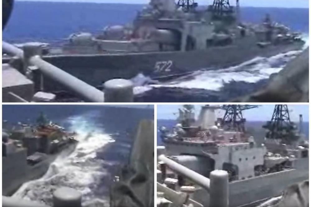 Neviđena Americka Provokacija Ovako Se Krstarica Sad Zaletela Na