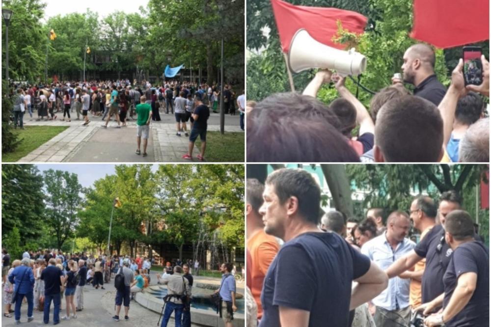 Протест студената у Новом Саду