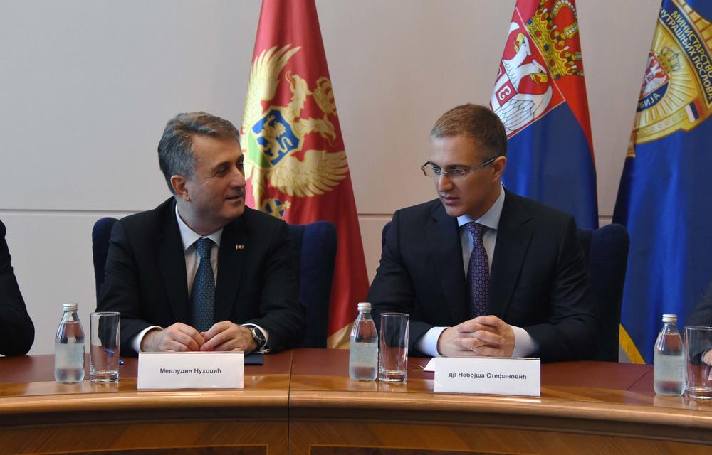 14:18h STEFANOVIĆ I NUHODŽIĆ: Kriminalci nisu i neće biti sigurni ni u Srbiji, ni u Crnoj Gori FOTO,VIDEO