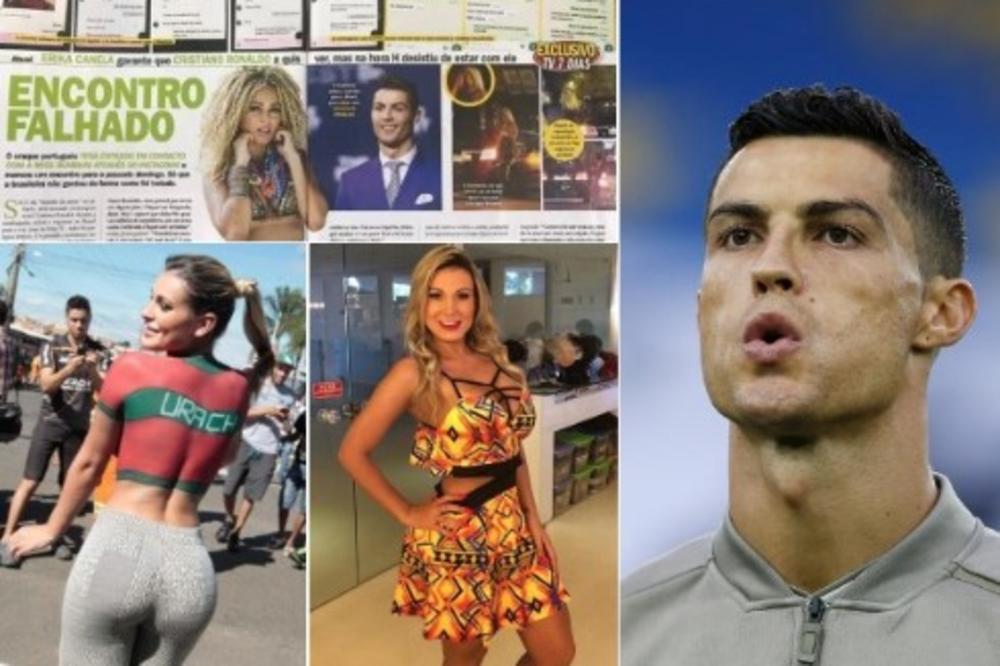 RONALDO POZNATOJ TV VODITELJKI PLATIO 10.000 EVRA ZA SAT VREMENA IŽIVLJAVANJA U KREVETU: Bio je veoma grub i agresivan, ali sve se jako brzo završilo! (VIDEO)