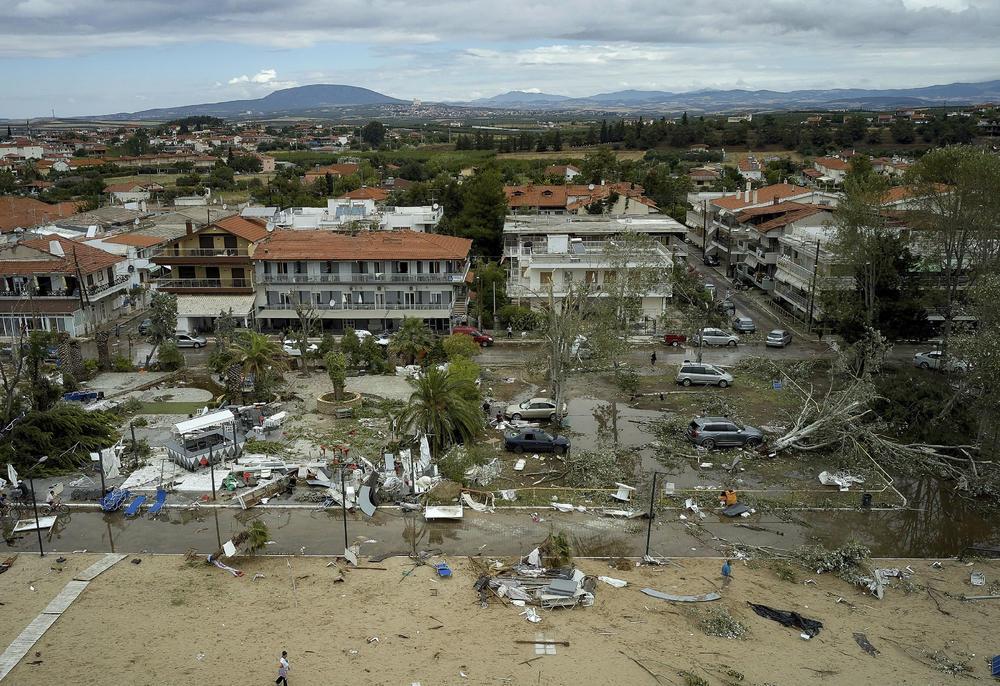 Nevreme na  HALKIDIKIJU snimljeno iz vazduha: Pogledajte prave razmere katastrofe koja je pogodila Grčku! 20807