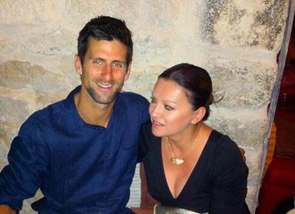 SVAKA ČAST I KAPA DOLE ŠTO ISPISUJE ISTORIJU TENISA! Nina Badrić je upoznala Novaka Đokovića i opisala ga je u samo 3 reči! (FOTO)