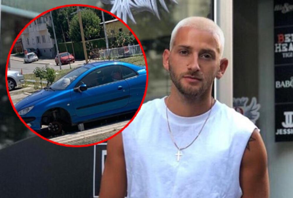 SAVO PEROVIĆ OSTAO U ŠOKU KAD JE VIDEO SVOJ AUTOMOBIL: Pevač hitno pozvao policiju, a evo šta se desilo! (FOTO)