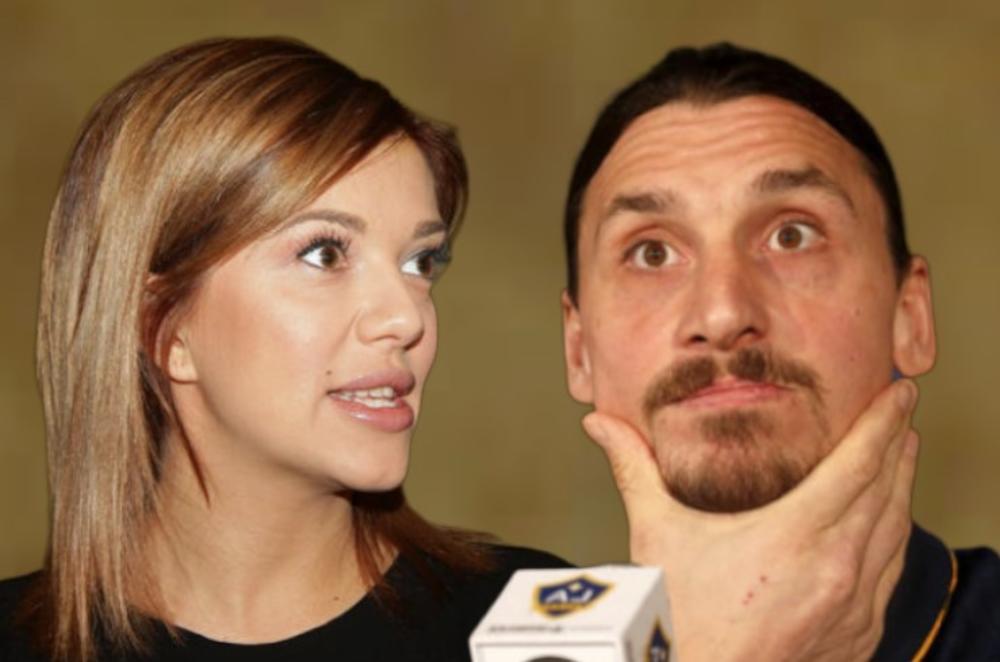 KIJA POŠLA LUNINIM STOPAMA! Hoće li Zlatan Ibrahimović ostaviti lepu Helenu zbog Kockareve?! Celu pesmu posvetila FUDBALERU pa se još nada da će da joj piše (VIDEO)