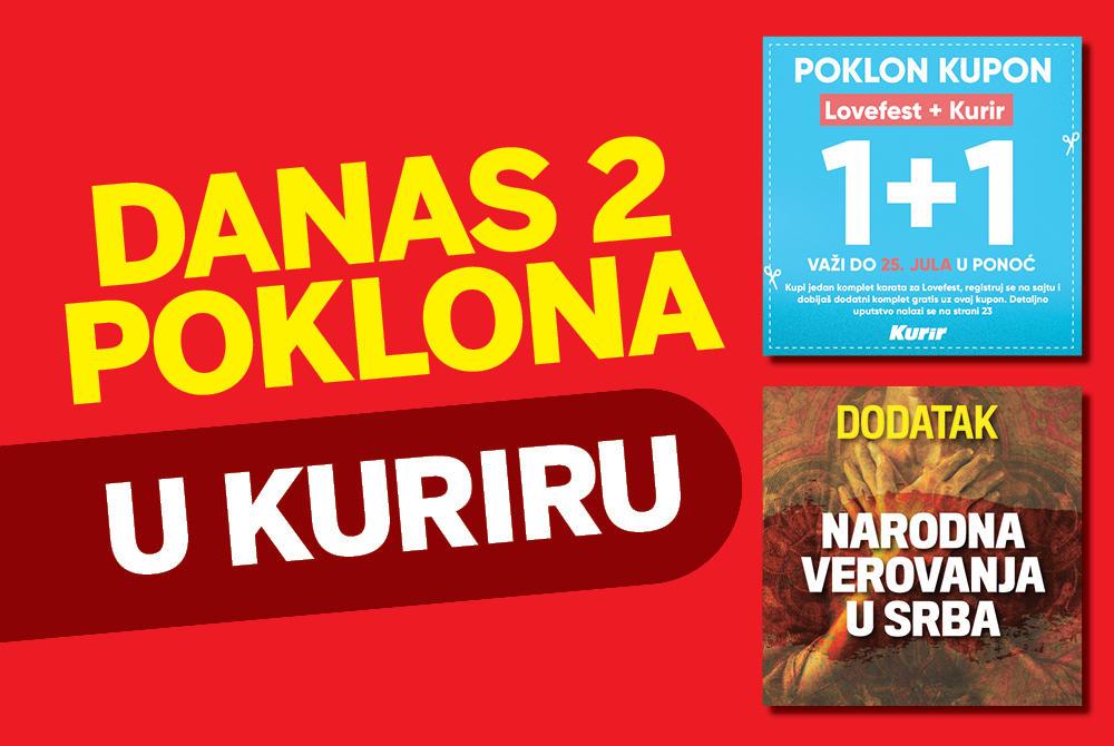 DANAS DVA POKLONA U KURIRU: Kupon za gratis komplet karata za Lovefest 12