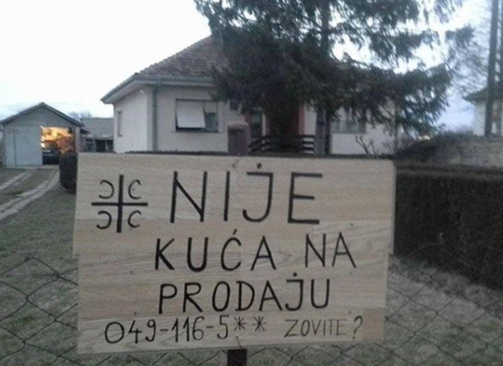OVA KUĆA NIJE NA PRODAJU: Fotka s Kosova s jakom porukom digla Srbiju na 5 33