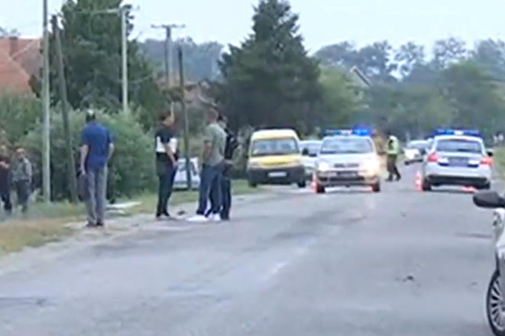 STRAVIČNA NESREĆA KOD ŠAPCA: Automobil sleteo s puta i udario u stub