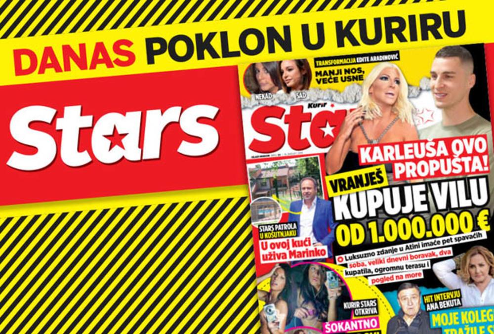DANAS POKLON U KURIRU! NOVI STARS! Otkrivamo šta Karleuša propušta