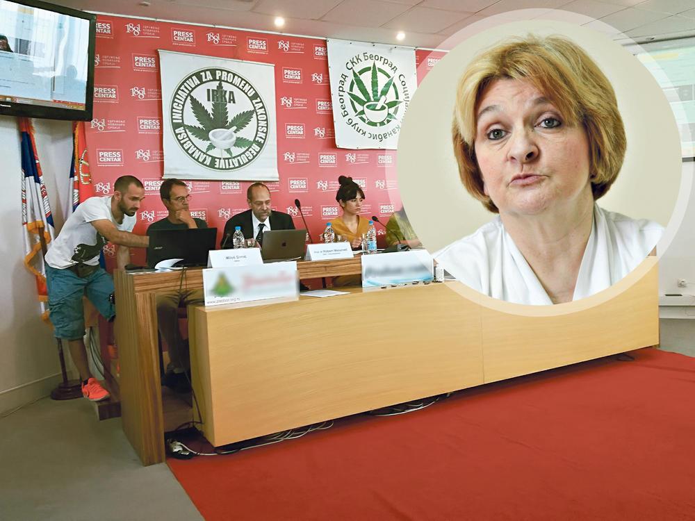 OPTUŽBE NA RAČUN DIREKTORKE INSTITUTA: Saradnica zgrće pare od kanabisa, a Danica se kao javno protivi legalizaciji!