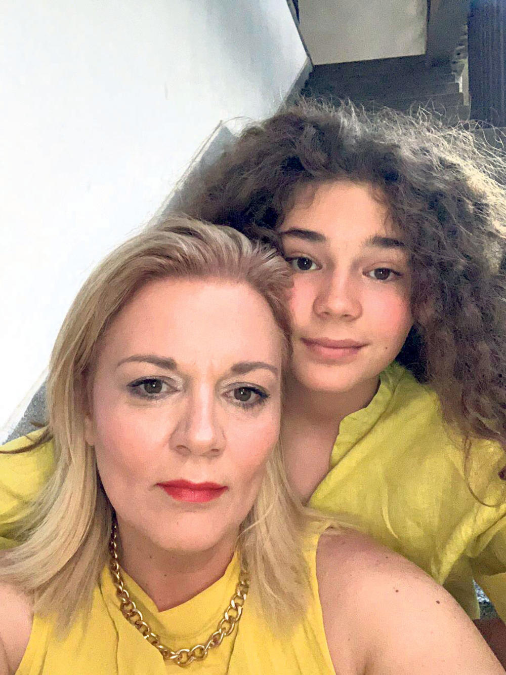 Podrška... Tara Katarina sa mamom