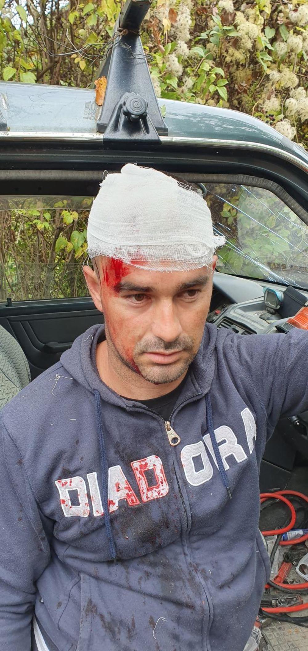 Jedan od povređenih radnika