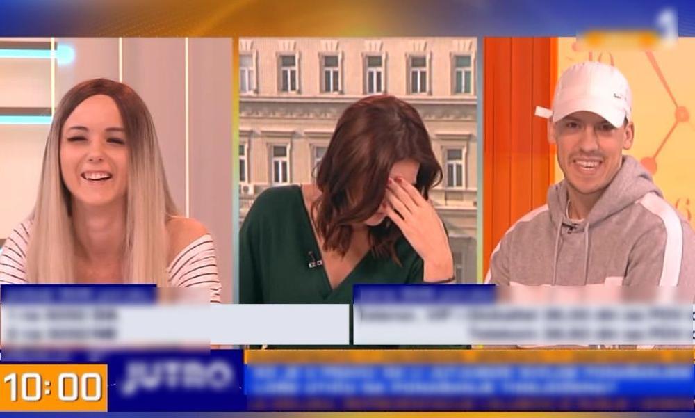 PLJUŠTALE STRAŠNE UVREDE! Uznemirena voditeljka se uhvatila za glavu, a Baka Prase je bio NEZAUSTAVLJIV: Ćelava si jer ideš na hemioterapiju?! (VIDEO)