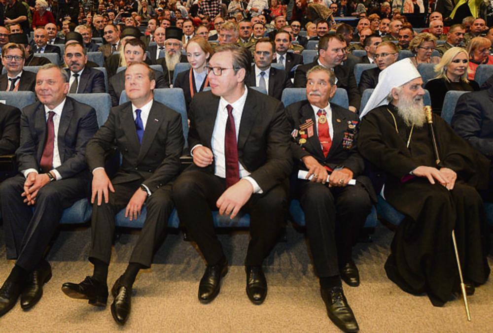 20.00 Sava centar: Svečana akademija povodom 75. Godišnjice oslobođenja Beograda