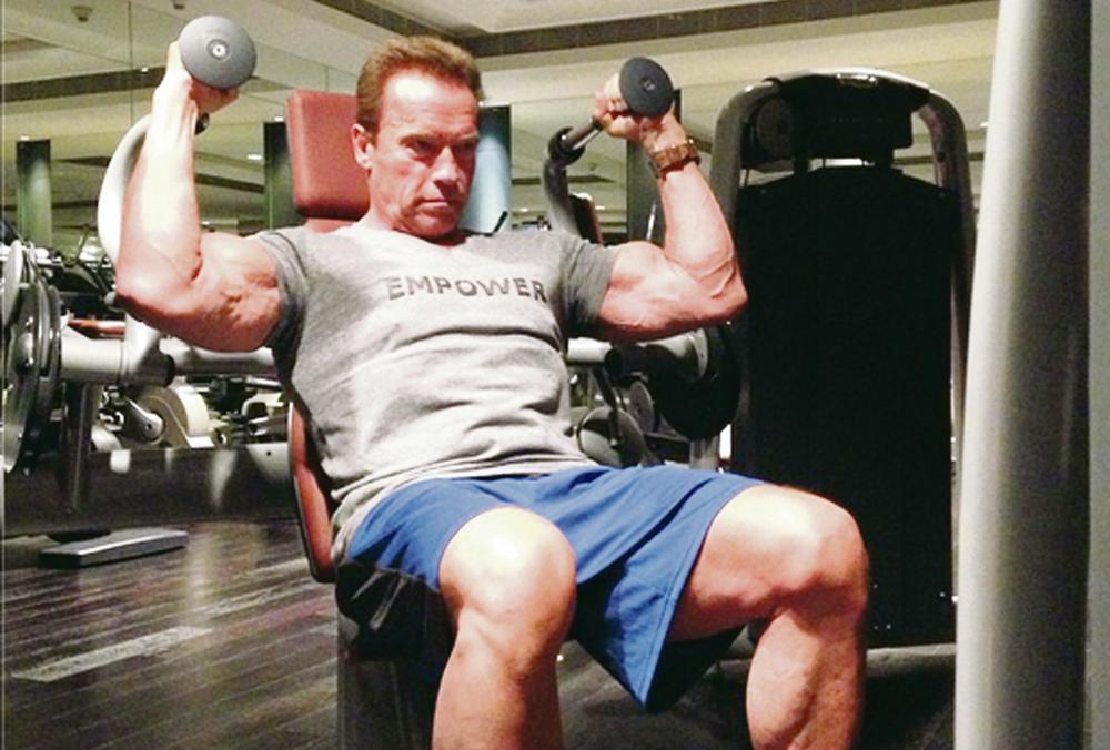 SAVETI ARNOLDA ŠVARCENEGERA: Kako izgraditi jake mišiće