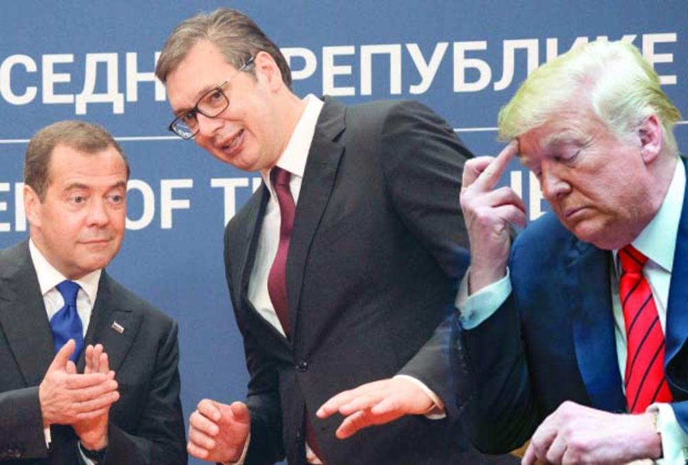 MEDVEDEV U BEOGRADU STOPIRA OFANZIVU SAD: Rusija neće ostaviti Srbiju samu u vezi problema Kosova i Metohije