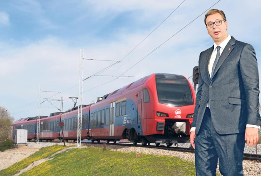 ZA TRI GODINE NOVA PRUGA DO CRNE GORE Vučić: Neće se više putovati 100 sati!