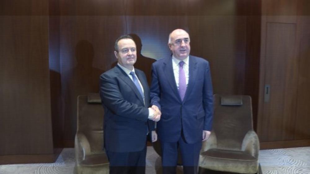 DAČIĆ SA MINISTROM INOSTRANIH POSLOVA AZERBEJDŽANA: Zahvalnost na principijelnoj podršci te zemlje teritorijalnom integritetu Srbije