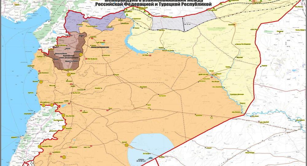 Objavljena Karta O Rasporedu Snaga U Siriji Evo Kako Na Terenu