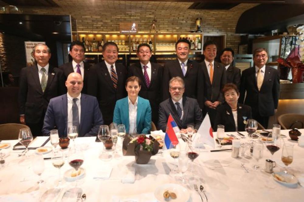 OTVOREN PROLAZ ZA SRPSKO-JAPANSKU EKONOMSKU SARADNJU! Brnabićeva: Japanska banka za međunarodnu saradnju zainteresovana za dođe i investira u Srbiji